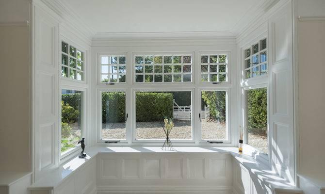 Large Edwardian Property White Upvc Double Glazed