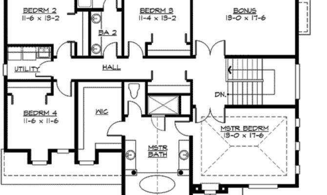 Large Home Plan Options Floor