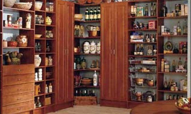 Large Kitchen Pantry Cabinet Ideas Design