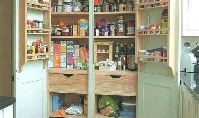 Large Kitchen Pantry Storage Cabinet Emerue