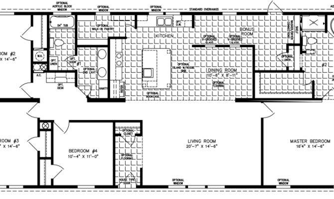 Large Manufactured Homes Home Floor Plans
