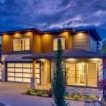 Large Modern House Plans Garage Plan