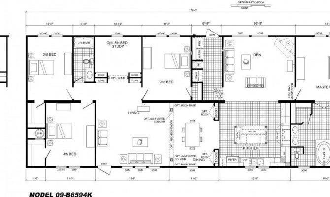 Large Modular Home Floor Plans Luxury