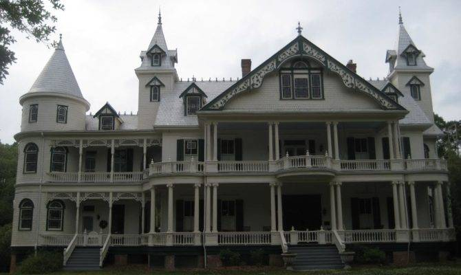 Large Queen Anne Victorian Plantation House Followpics