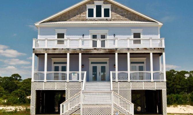Large Story House Beachside Neighborh Homeaway