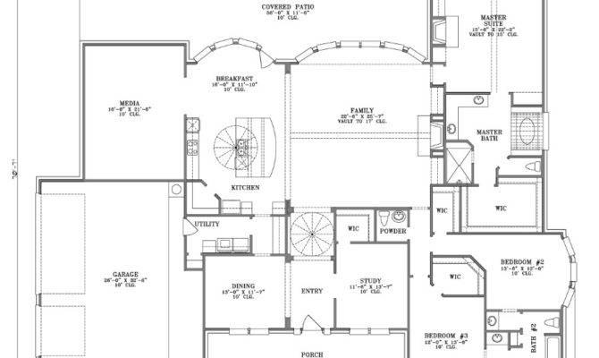 Large Story House Plans Single