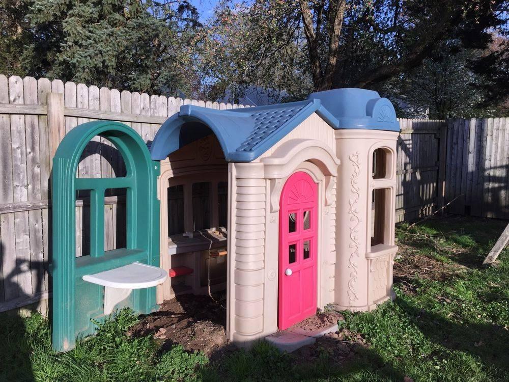 Large Victorian Little Tikes Playhouse Ebay Home Plans Blueprints 65709