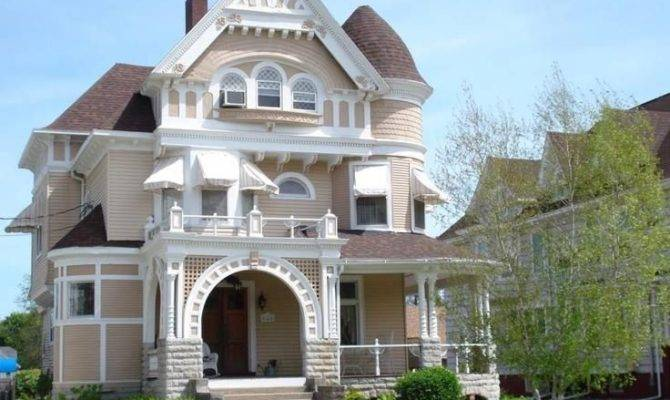 Large Victorian Style House Architectural Styles Exterio