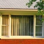 Large Window Front House Side Windows Open