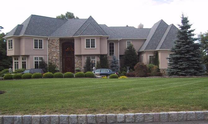 Larger Luxury Home Roseland Eifs Exterior