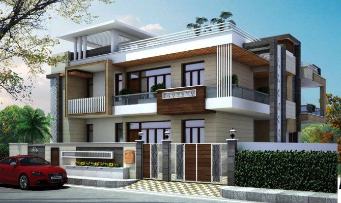Latest House Front Elevation Design Gharbanavo