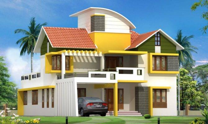 Latest Kerala House Plan Elevation