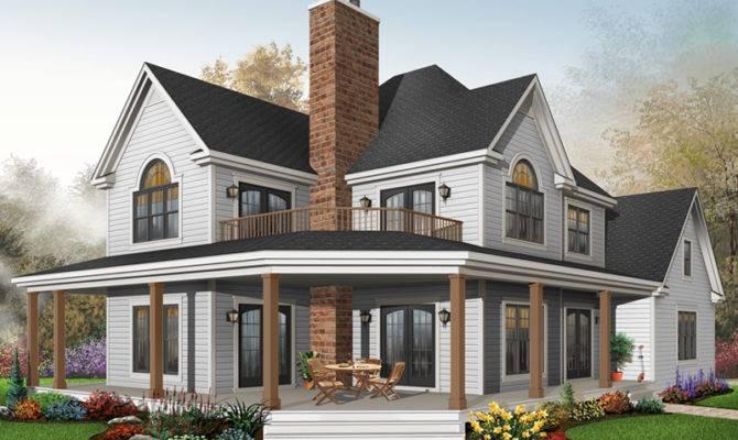 Laurel Hill Country Farmhouse Plan House Plans