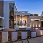 Laurel Way Cliff Luxurious Modern Mansion Mansions