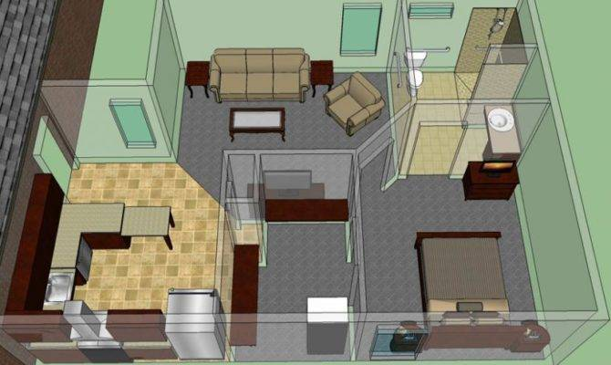 Law Suite House Plans Floor Home Plan