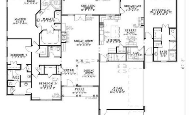 Law Suite Revolution Look House Plan