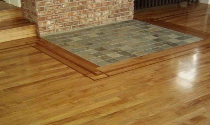 Laying Laminate Wood Flooring Around Fireplace