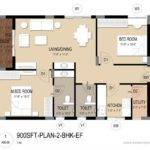 Layout Plan Master Bhk Floor