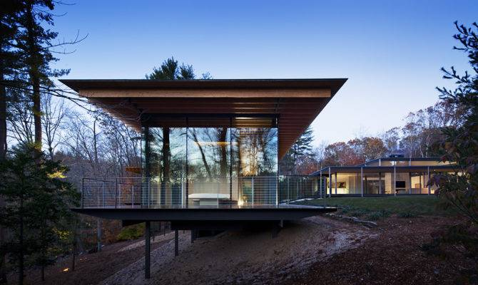 Lee House Kengo Kuma Glass Wood Addition