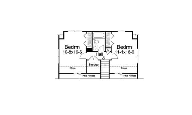 Leesville Country Saltbox Home Plan House Plans More