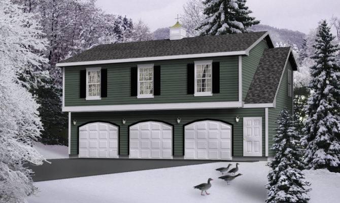 Levana Apartment Garage Plan House Plans More