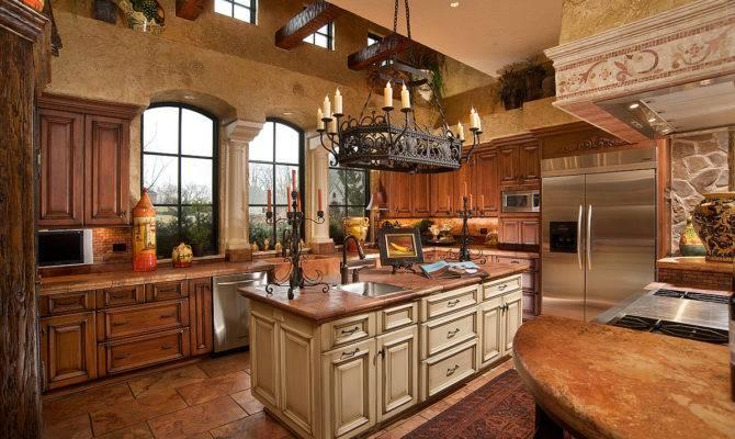 Levant Mediterranean Tuscan Style Kitchen