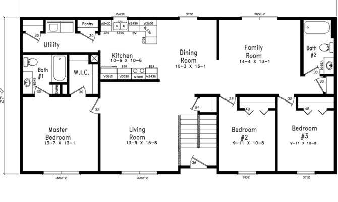 Level Home Plans Designs Floor