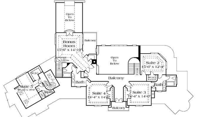 Level House Plan Floor Plans Pinterest