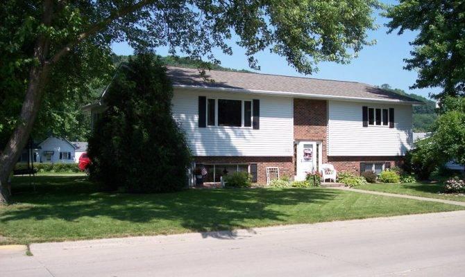 Level House Plans Attached Garage Home Design Decor