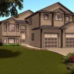Levels House Plans Our Narrow Lot Cottage