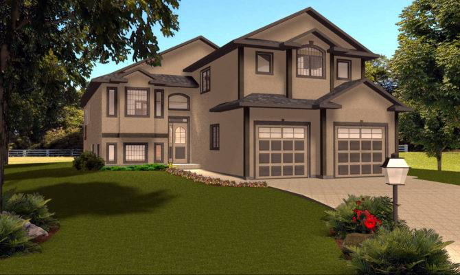 Levels House Plans Our Narrow Lot Cottage