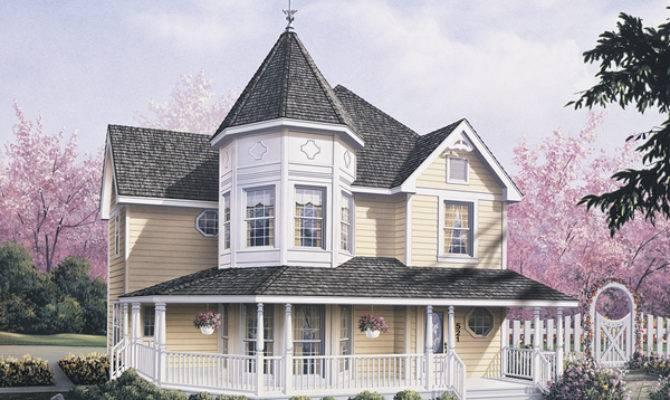 Lexington Victorian Home Plan House Plans More