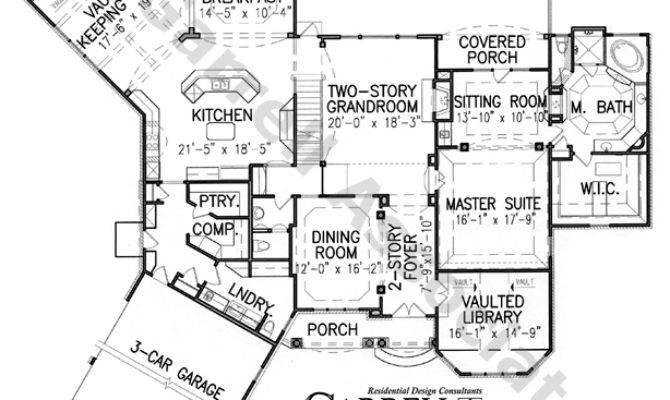 Leyland Manor House Plan Plans Garrell