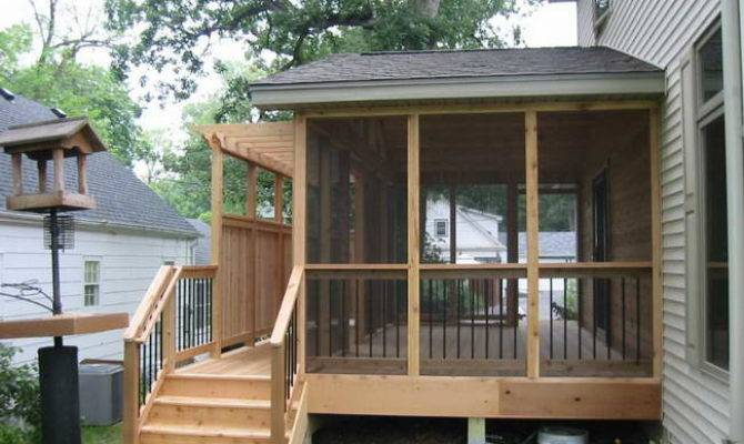 Lifestyle Home Screened Porch Plans