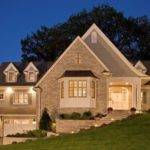 Light Night Exterior Lighting Your Home Source
