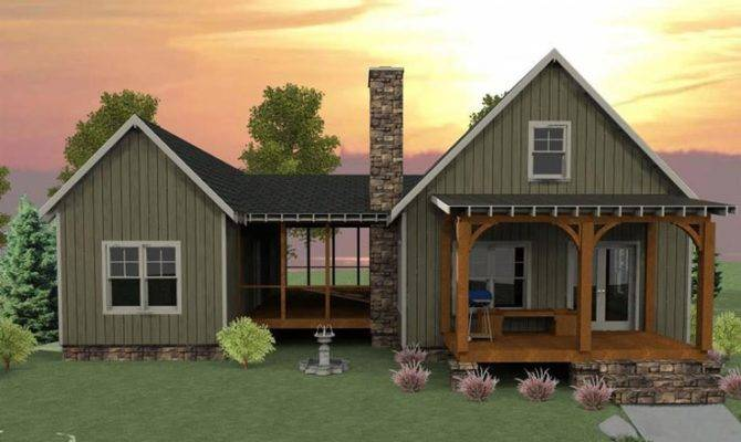 Like Exterior Best Dog Trot Cabin Home Plan