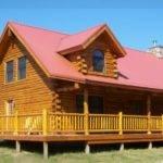 Lincoln Log Cabin Treetop Homes Builder Michigan