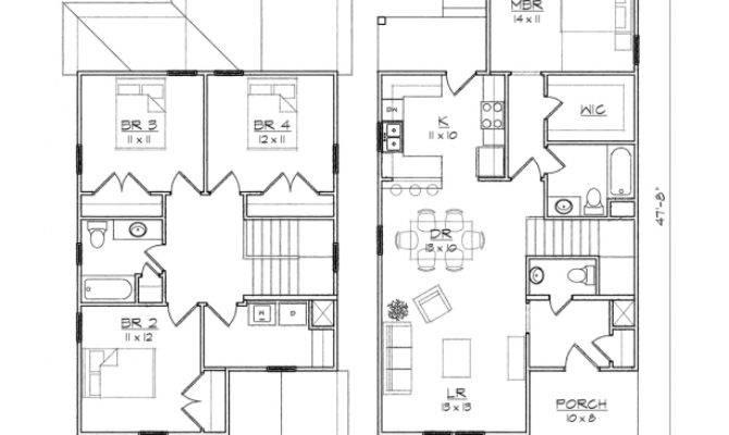 Linden Iii Queen Anne Floor Plan Tightlines Designs