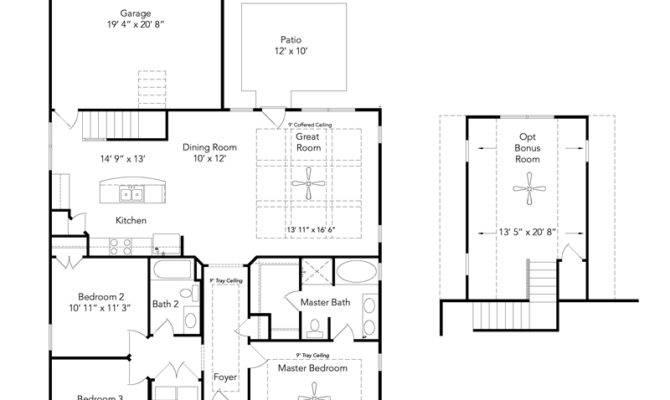 Linden Lenox Smyrna Floor Plans Regent Homes