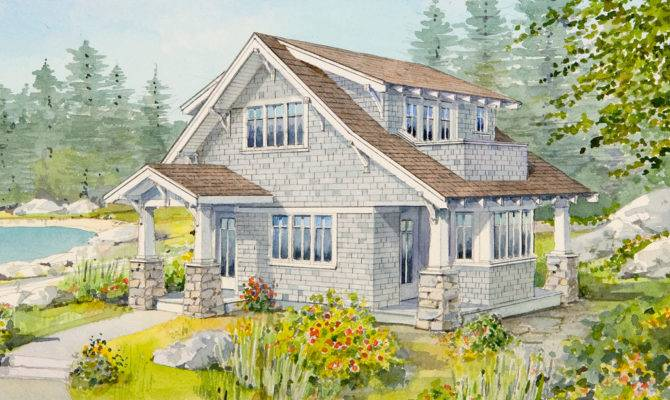 Live Large Small House Open Floor Plan