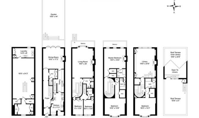 Living Cottage Two Story House Plan Floor Plans Each Home