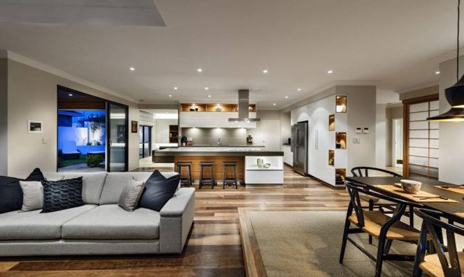Living Dining Kitchen Open Plan House Burns Beach Perth
