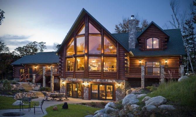 Living Log Home Imagine Your Homes