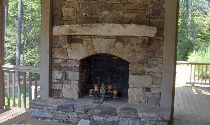 Living Room Excellent Stone Fireplaces Home Interior