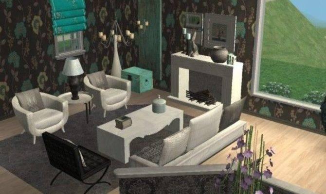 Living Room Glamorous Ideas Sims