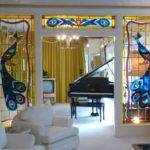 Living Room Piano Dining