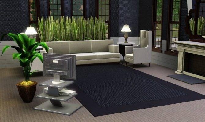 Living Room Stunning Design Sims Ideas