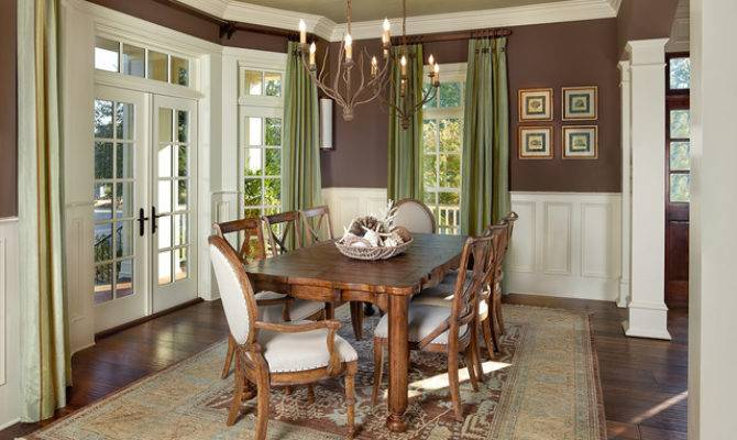 Living Southern Traditional Dining Room Charleston