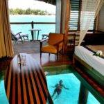 Living Space Over Water Bungalow Meridien Bora