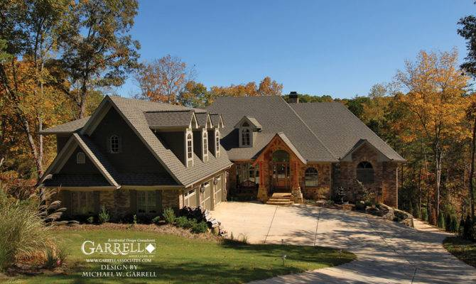 Lodge House Plan Front Elevation Craftsman Style Plans